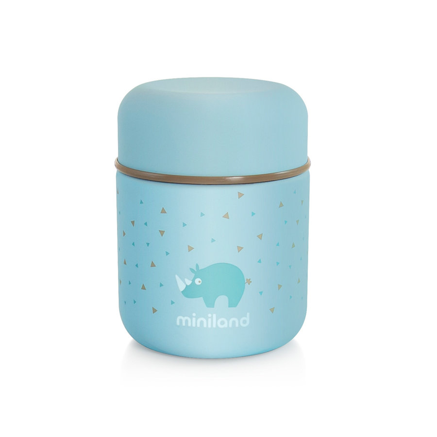 Termo para Sólidos Silky Food Thermos (280 ml.), en azul.