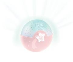 Soothing light and projector rosa