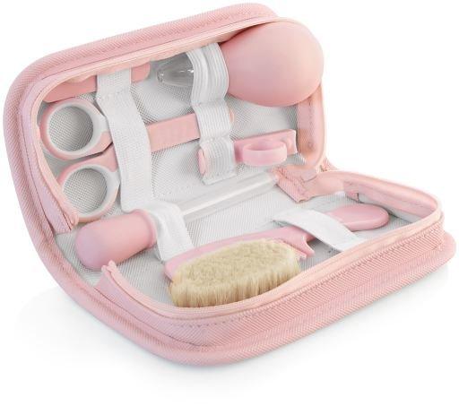 Kit Cuidado del Bebé Kit, en rosa.