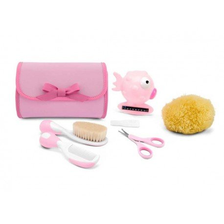 Set de higiene rosa