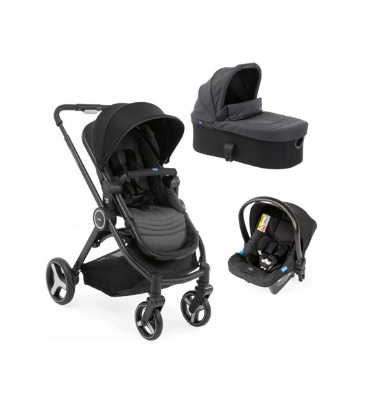 Cochecito Trio Best Friend PIRATE BLACK de Chicco